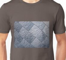 Fragment of gray decorative wall Unisex T-Shirt