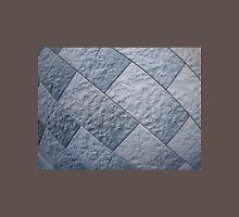 Fragment of gray decorative wall Unisex T-Shirt