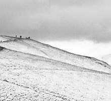 Walkers on Latrigg by Mike Finley