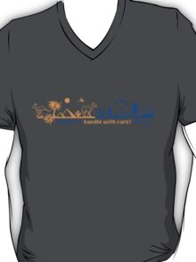 Fragile - handle with care! version 2 T-Shirt