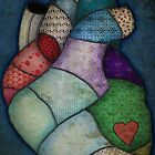 What Heart Are you? - No. 2: Patchwork Heart by Sybille Sterk