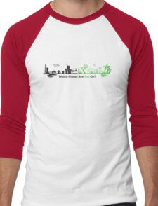 Which Planet Are You On? - version 2 Men's Baseball ¾ T-Shirt