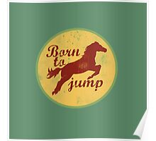 Born to jump Poster