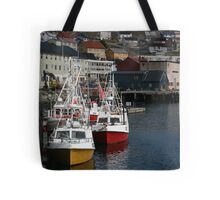 Honningsvåg Harbour Tote Bag