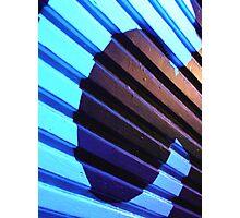 deep blue C  Photographic Print
