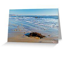 Winter Blues ~ Lyme Regis Greeting Card