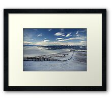 View from the Peak Framed Print