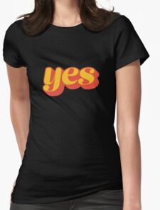 Affirmative Womens Fitted T-Shirt
