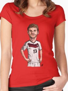 Fussball Women's Fitted Scoop T-Shirt