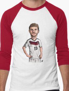Fussball Men's Baseball ¾ T-Shirt