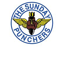 The World Famous Sunday Punchers! Photographic Print