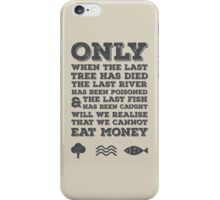The Last River iPhone Case/Skin