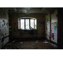 falling apart under the asylum Photographic Print