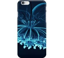 blue iPhone Case/Skin