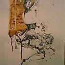 On the ladder by Catrin Stahl-Szarka