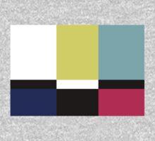 Color Blox Kids Tee