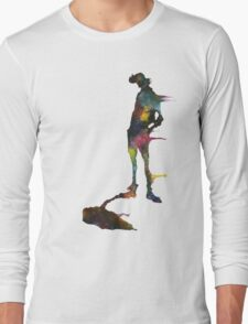 He's a dandy guy, made of space. Long Sleeve T-Shirt