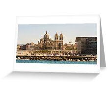 Fun in Muceum Square, Marseille  Greeting Card