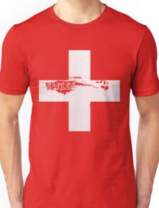 Swiss flag  Unisex T-Shirt
