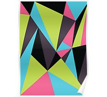Triangle Composition Poster