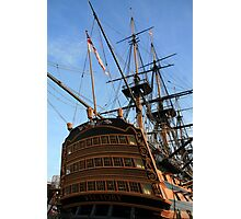 """HMS Victory - On """"Tall Ships"""" List for challenge. Photographic Print"""