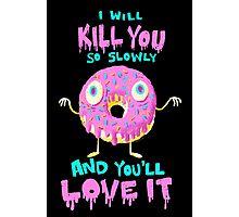 Killer Donut Photographic Print