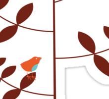 birds on tree Sticker