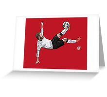 Volley Greeting Card