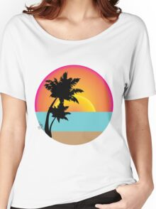 Ocean View Women's Relaxed Fit T-Shirt