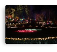 Night in the Rose Garden (1) Canvas Print