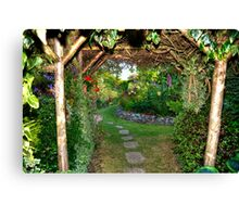 The Secret Garden Canvas Print