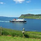 Uig Ferry, Isle of Skye, Scotland by Louise Norman