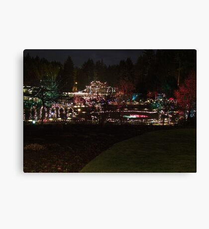 Night in the Rose Garden (3) Canvas Print
