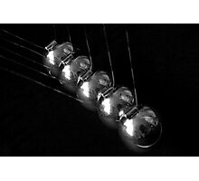 Newton's Cradle Photographic Print