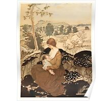 The Springtide of Life Poems of Childhood by Algernon Charles Swinburne art Arthur Rackham 1918 0119 Nursing Poster