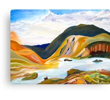 Land Full of Colour Canvas Print