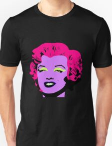 Purple Marilyn Monroe T-Shirt