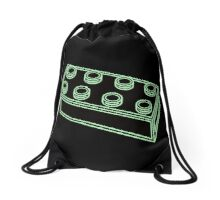 2 x 4 Brick  Drawstring Bag
