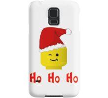 Santa Ho Ho Ho Minifig by Customize My Minifig Samsung Galaxy Case/Skin