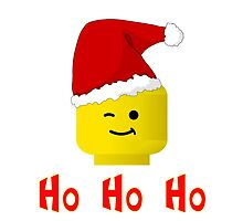 Santa Ho Ho Ho Minifig by Customize My Minifig by Customize My Minifig