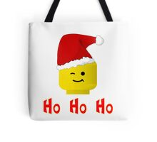 Santa Ho Ho Ho Minifig by Customize My Minifig Tote Bag