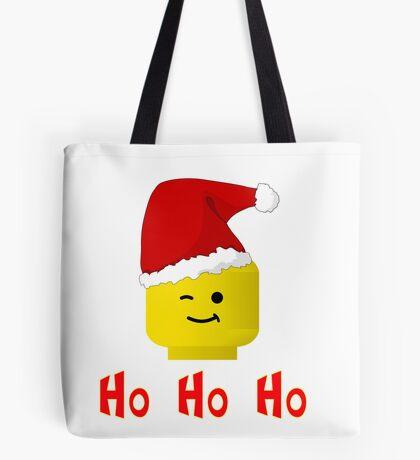 Santa Ho Ho Ho Minifig by Customize My Minifig Tote Bag