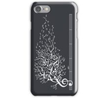 The Sound of Nature - White iPhone Case/Skin