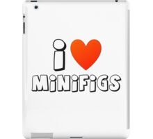 I Love Minifigs iPad Case/Skin