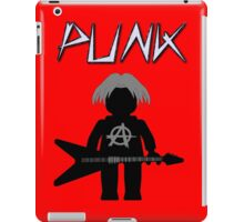 Punk Guitarist Minifig by Customize My Minifig iPad Case/Skin