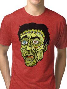 Curse of Frankenstein Tri-blend T-Shirt