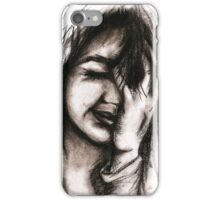 Charcoal portrait #1 iPhone Case/Skin