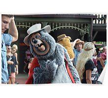 Disney Country Bears Disney Bear BIG AL Poster