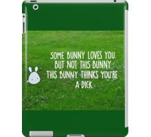 Not This Bunny iPad Case/Skin