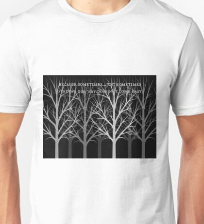 finding your way... Unisex T-Shirt